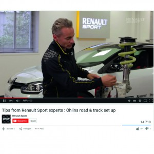 PFP ÖHLINS France Mégane RS-2